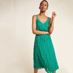 Anthropologie Hanya Textured Mini Dress Eva Franco